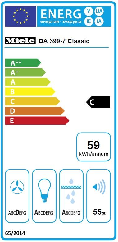 Energielabel DA 399-7