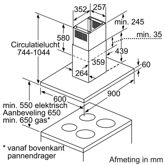 Maatschets DIB097A50