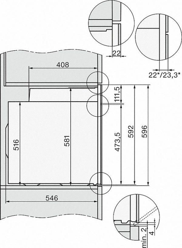 Miele H 2760 BP Oven