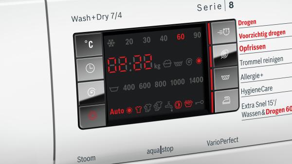 Bosch WVH28444NL Wasser/droger