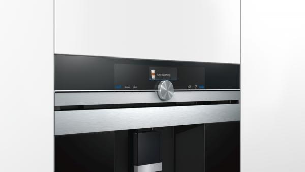 Siemens CT636LES1 Ingebouwde koffiemachine