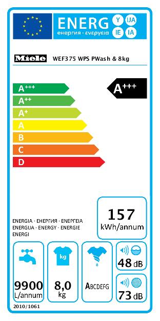 Miele WEF375 WPS PowerWash & 8kg