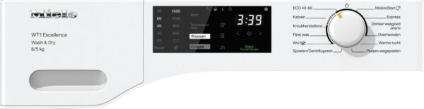 Miele WTD165 WPM  wasdroogcombinatie 8/5 kg
