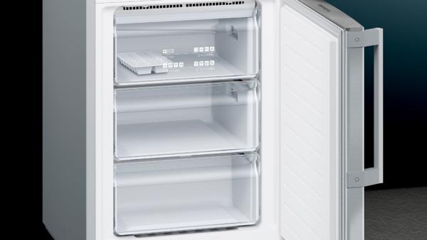 Siemens KG39NEIDQ iQ300 Vrijstaande koel-vriescombinatie 203 x 60 cm rvs